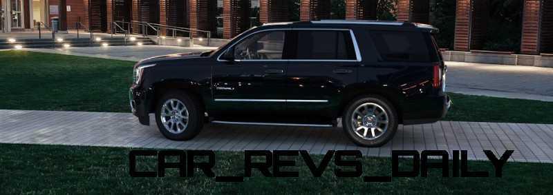 CarRevsDaily - 2015 GMC Yukon Denali - Colors - Onyx Black 9