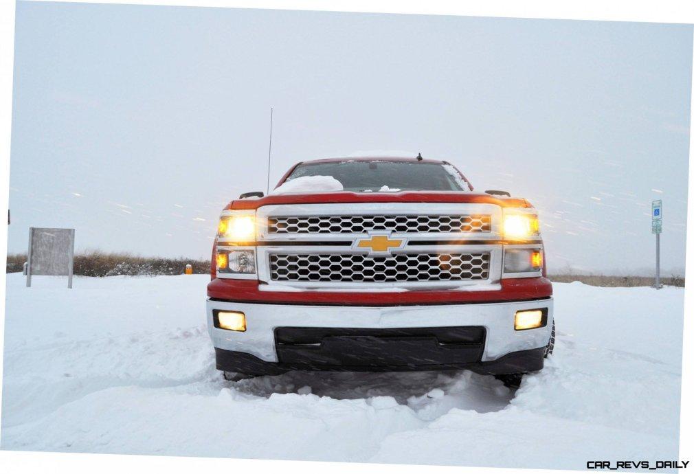 CarRevsDaily - Snowy Test Photos - 2014 Chevrolet Silverado All-Star Edition 16