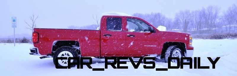 CarRevsDaily - Snowy Test Photos - 2014 Chevrolet Silverado All-Star Edition 7