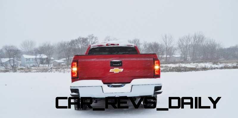 CarRevsDaily - Snowy Test Photos - 2014 Chevrolet Silverado All-Star Edition 9