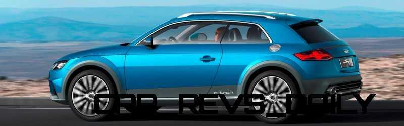 CarRevsDaily.com - 2014 Audi Allroad Shooting Brake Concept (Q2 e-tron) 2