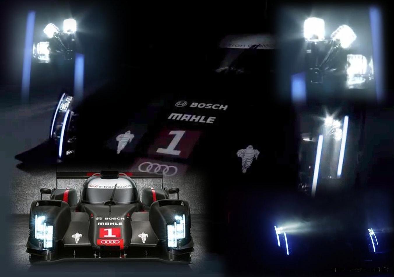 CarRevsDaily.com - 2014 Audi R18 LeMans LaserLight Article Header Graphic