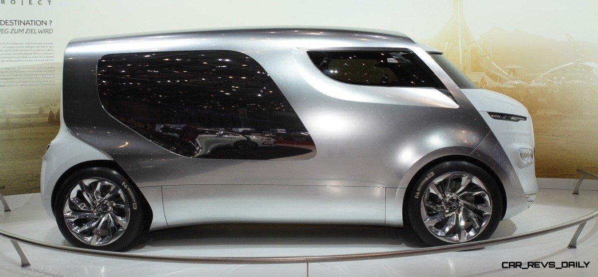 Concept Flashback - 2011 Citroen Tubik Brings Delightful Shapes of 1930's Tub Vans 1