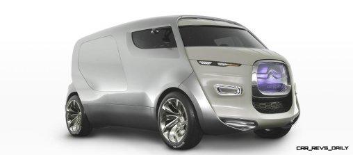 Concept Flashback - 2011 Citroen Tubik Brings Delightful Shapes of 1930's Tub Vans 10