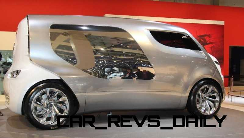 Concept Flashback - 2011 Citroen Tubik Brings Delightful Shapes of 1930's Tub Vans 4