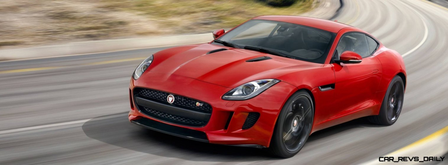 Jaguar Makes a WINNER! 2015 F-type Coupe Debuts Three Gorgeous Flavors, Pricing, Up to 550 HP!5