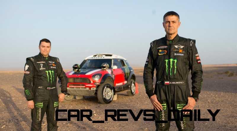 MINI Poised for Dakar Three-Peat with All4 Countryman Squad 44