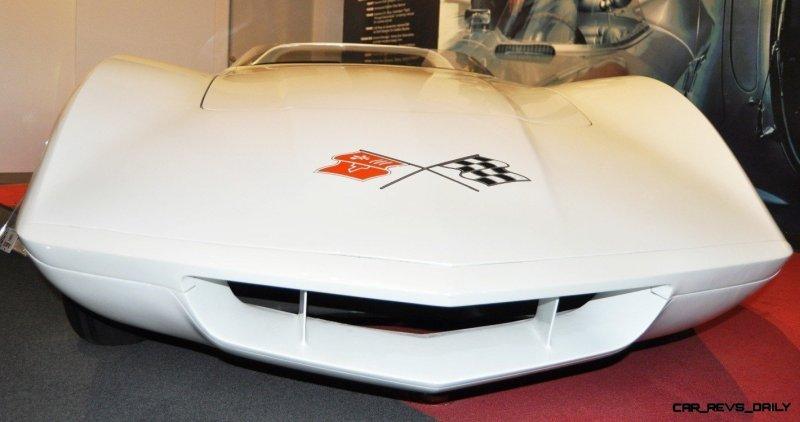 1968 Corvette ASTRO and ASTRO II Concepts at the National Corvette Museum + Ferrari and Bugatti-style Concepts 8