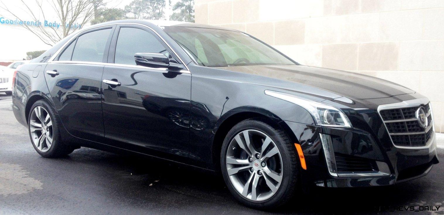 2014 Cadillac CTS Vsport - High-Res Photos 4