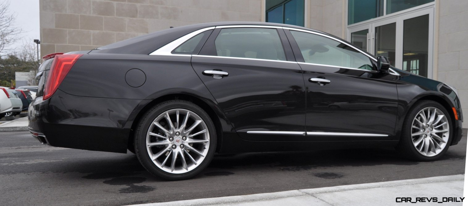 2014 Cadillac XTS4 Platinum Vsport -- First Drive Video and Photos 4