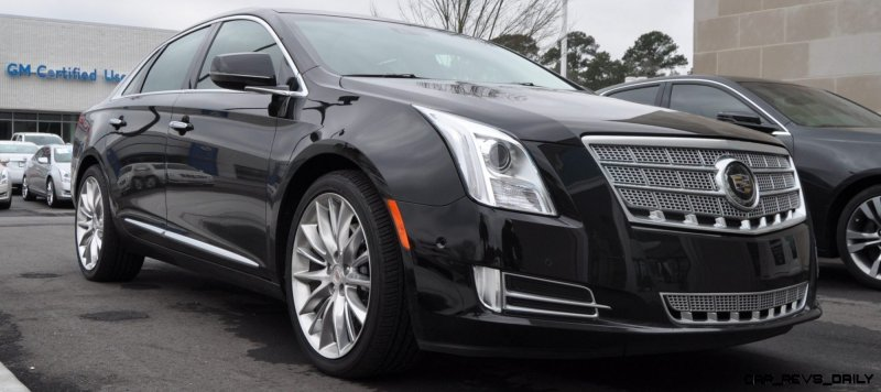 2014 Cadillac XTS4 Platinum Vsport -- First Drive Video and Photos 8