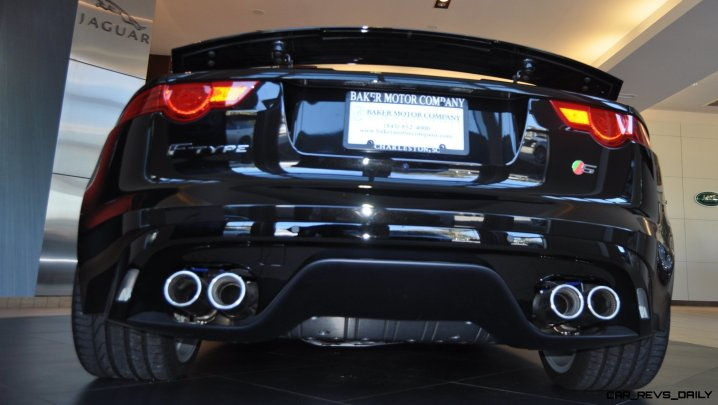 2014 Jaguar F-type S Cabrio - LED Lighting Demo and 60 High-Res Photos16