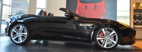 2014 Jaguar F-type S Cabrio - LED Lighting Demo and 60 High-Res Photos20