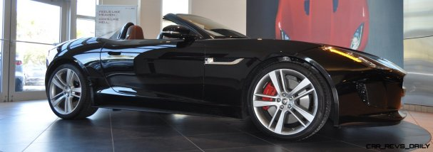 2014 Jaguar F-type S Cabrio - LED Lighting Demo and 60 High-Res Photos21