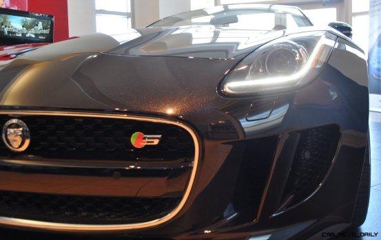 2014 Jaguar F-type S Cabrio - LED Lighting Demo and 60 High-Res Photos27