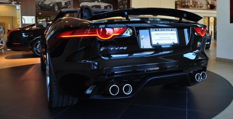 2014 Jaguar F-type S Cabrio - LED Lighting Demo and 60 High-Res Photos28