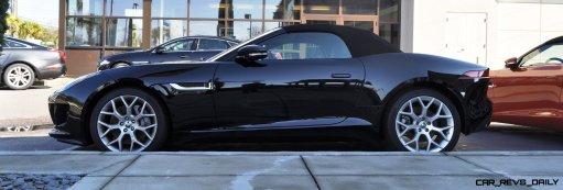 2014 Jaguar F-type S Cabrio - LED Lighting Demo and 60 High-Res Photos46