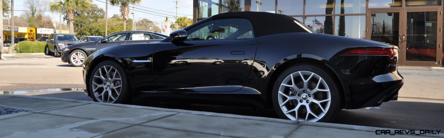 2014 Jaguar F-type S Cabrio - LED Lighting Demo and 60 High-Res Photos47