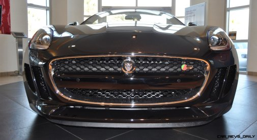 2014 Jaguar F-type S Cabrio - LED Lighting Demo and 60 High-Res Photos7