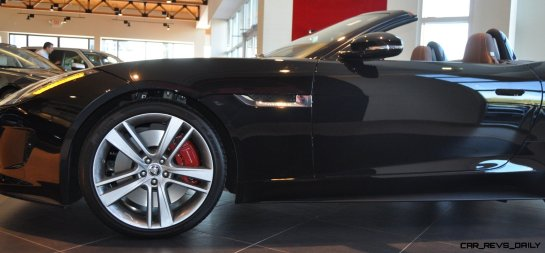 2014 Jaguar F-type S Cabrio - LED Lighting Demo and 60 High-Res Photos9