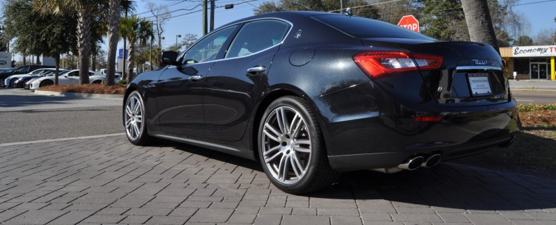 2014 Maserati Ghibli Looking, Sounding Marvelous -- 40+ All-New, High-Res Photos -- Available Now from $67k 12