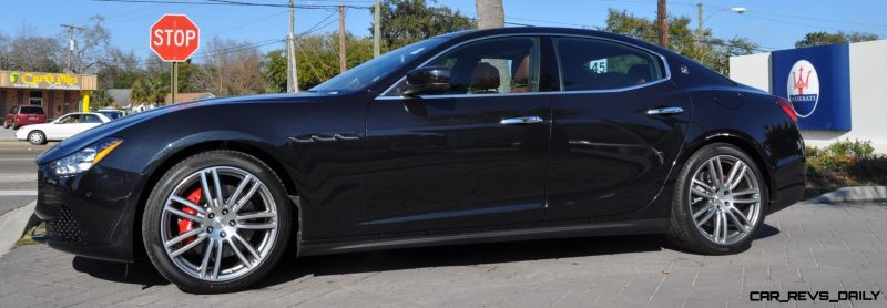 2014 Maserati Ghibli Looking, Sounding Marvelous -- 40+ All-New, High-Res Photos -- Available Now from $67k 15