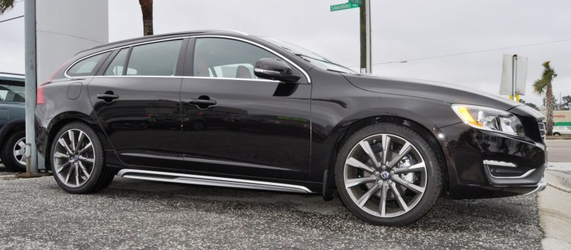 2015 Volvo V60 T5 Sport Pack -- Video Walkaround and 30 All-New Photos 27