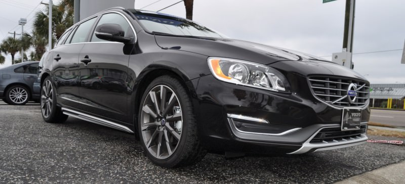 2015 Volvo V60 T5 Sport Pack -- Video Walkaround and 30 All-New Photos 29