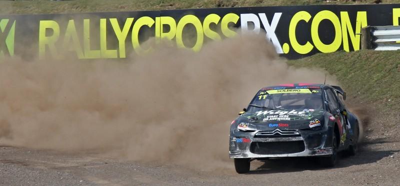 All-New FIA RallyCross Series Looks FUN! Dart, Sonic, Beetle, Fiesta, Fabia, Pug 208GTI and More On-Board 10