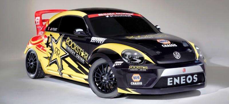 All-New FIA RallyCross Series Looks FUN! Dart, Sonic, Beetle, Fiesta, Fabia, Pug 208GTI and More On-Board 14