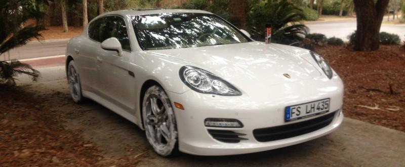 Car-Revs-Daily.com Recommends - Black Magic Tire Foam - Porsche Panamera S 10