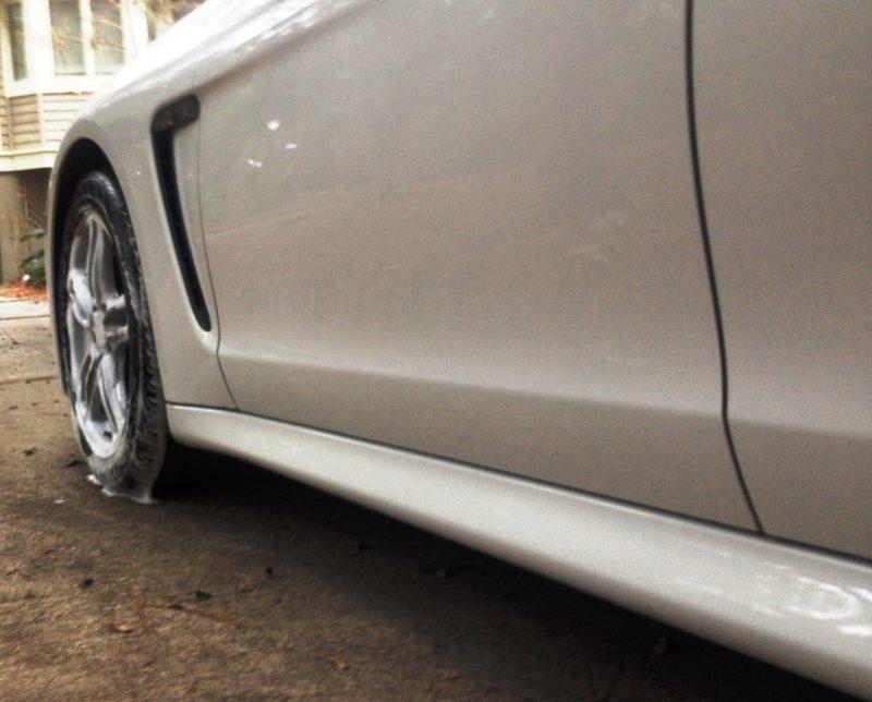 Car-Revs-Daily.com Recommends - Black Magic Tire Foam - Porsche Panamera S 16