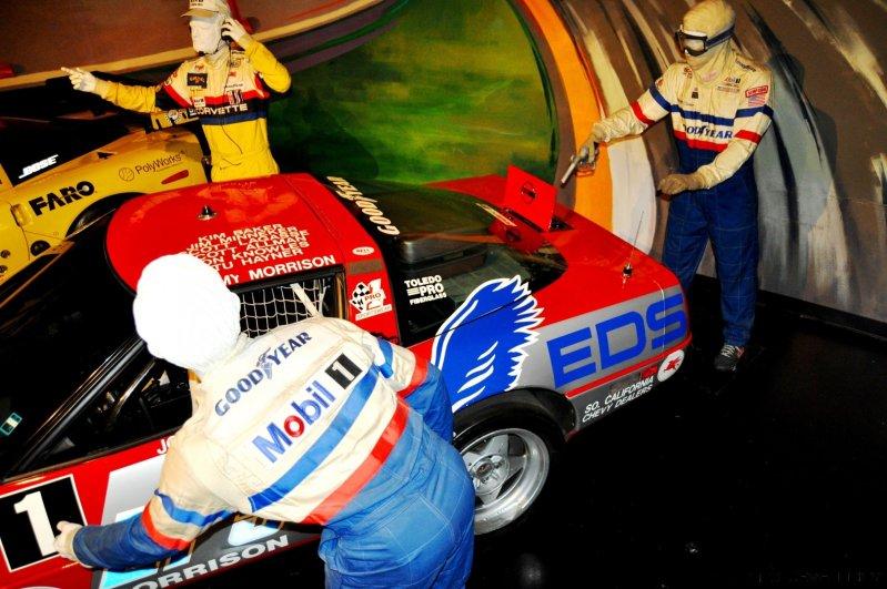 Corvette Museum -- The Racecars! 58 High-Res Photos -- Plus NCM Motorsports Park A High-Speed Dream 28