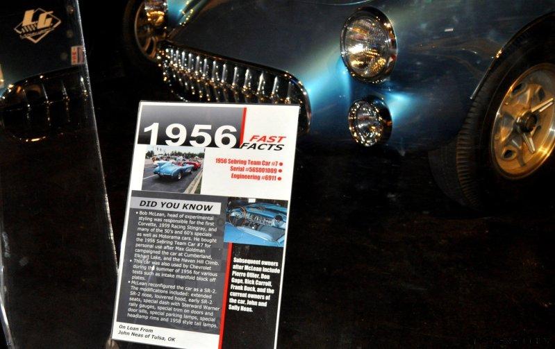 Corvette Museum -- The Racecars! 58 High-Res Photos -- Plus NCM Motorsports Park A High-Speed Dream 36