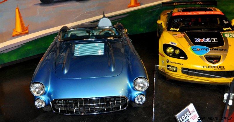 Corvette Museum -- The Racecars! 58 High-Res Photos -- Plus NCM Motorsports Park A High-Speed Dream 37