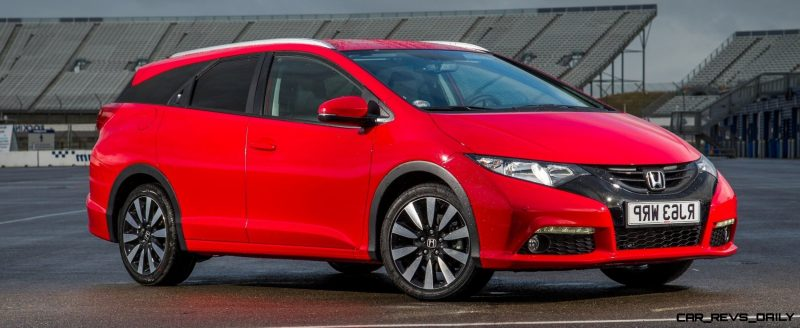 UK Honda Civic Tourer Touts Inner Beauty -- But This Wagon Is Gorgeous vs. Clinically-Depressed U.S. Civic 25