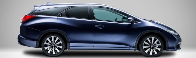 UK Honda Civic Tourer Touts Inner Beauty -- But This Wagon Is Gorgeous vs. Clinically-Depressed U.S. Civic 4