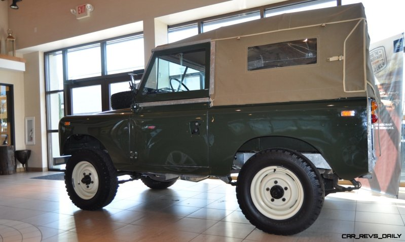 Video Walk-around and Photos - Near-Mint 1969 Land Rover Series II Defender at Baker LR in CHarleston 17