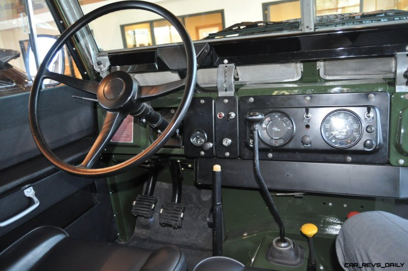 Video Walk-around and Photos - Near-Mint 1969 Land Rover Series II Defender at Baker LR in CHarleston 2