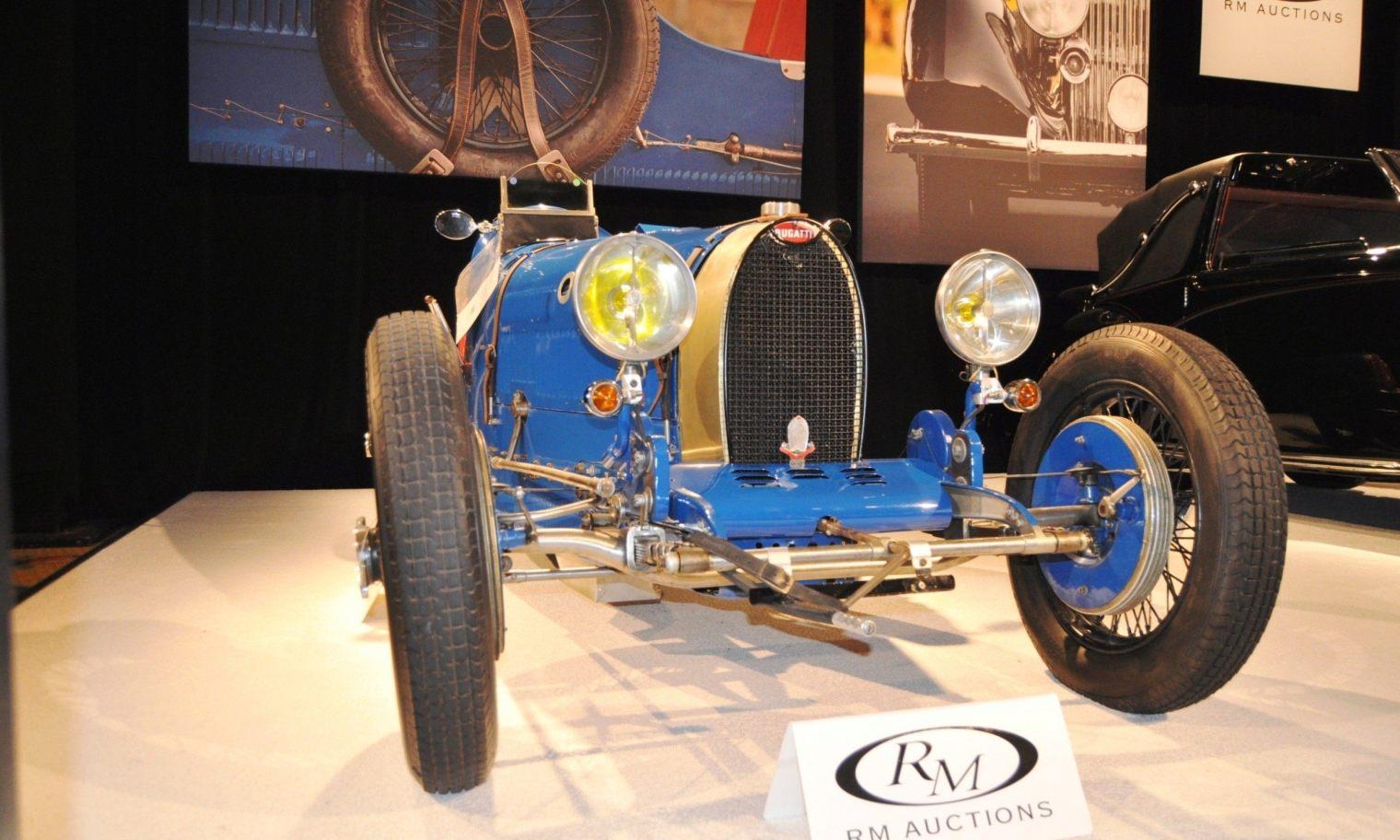 1928 Bugatti Type 37A Grand Prix Supercharged-- $962,000 at RM Auctions Amelia 2014 -- 45 Original Photos 2