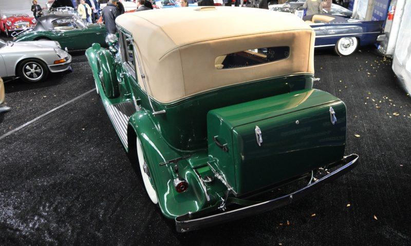 1932 Cadillac V-16 452B Madame X Imperial Sedan -- Gooding & Co. Amelia Island 2014 -- Sold for $264k 15
