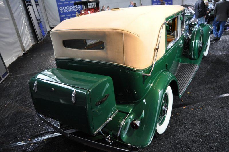 1932 Cadillac V-16 452B Madame X Imperial Sedan -- Gooding & Co. Amelia Island 2014 -- Sold for $264k 18