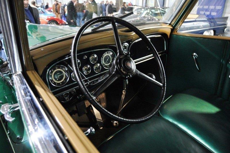 1932 Cadillac V-16 452B Madame X Imperial Sedan -- Gooding & Co. Amelia Island 2014 -- Sold for $264k 20