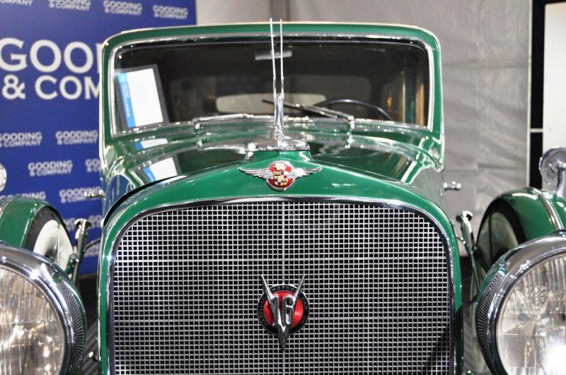 1932 Cadillac V-16 452B Madame X Imperial Sedan -- Gooding & Co. Amelia Island 2014 -- Sold for $264k 4