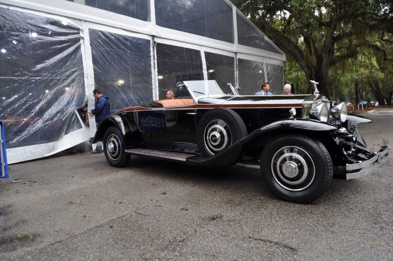 1933 Rolls-Royce Phantom II Henley Roadster 11