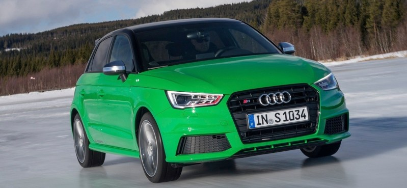 2014 AUDIU S1 and S1 Sportback in Delightful Bold Colors 14