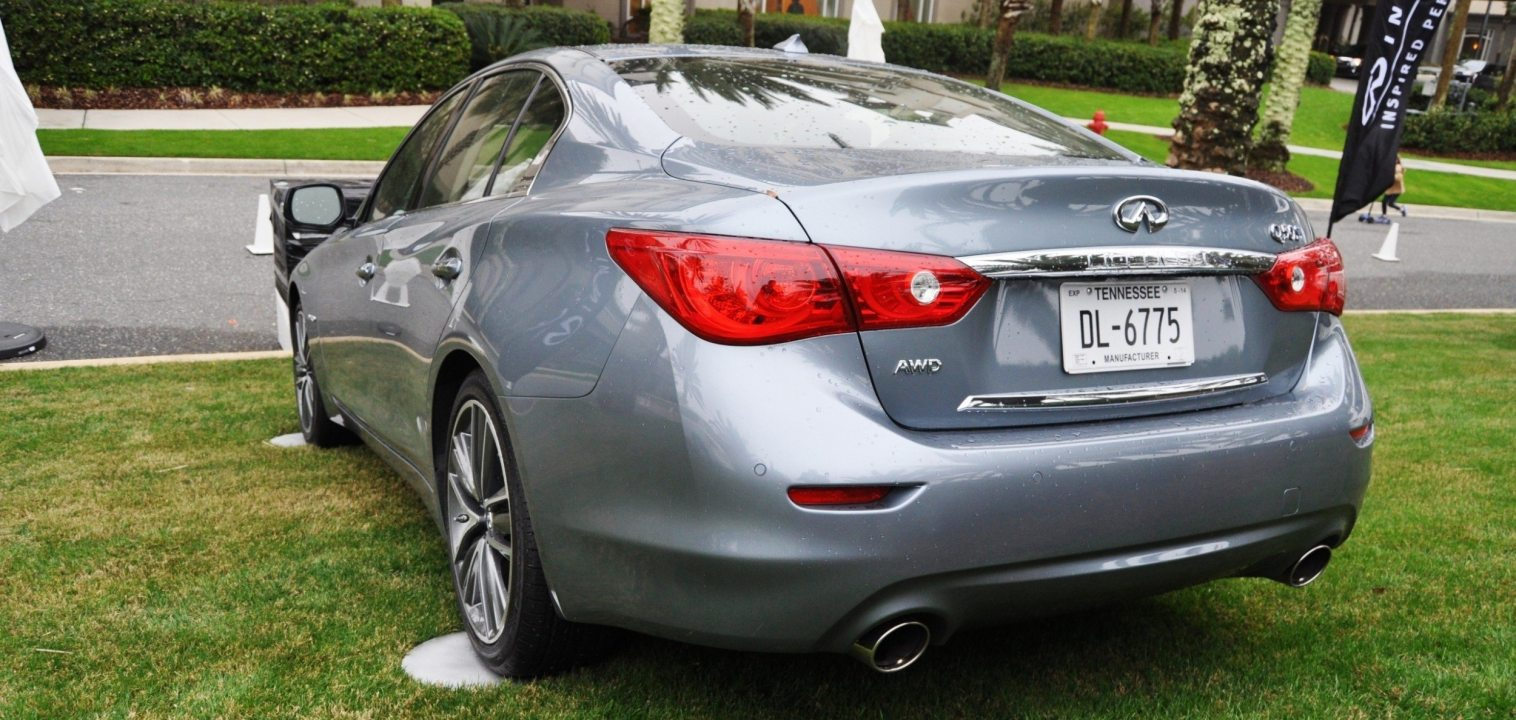 2014 INFINITI Q50S AWD Hybrid -- 1080p HD Road Test Videos & 50 Photos -- AAA+ Refinement and Truly Authentic Steering -- An Excellent BMW 535i Competitor 10