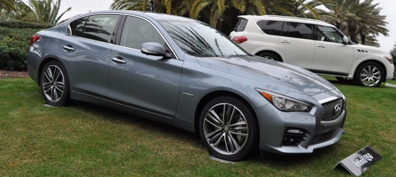 2014 INFINITI Q50S AWD Hybrid -- 1080p HD Road Test Videos & 50 Photos -- AAA+ Refinement and Truly Authentic Steering -- An Excellent BMW 535i Competitor 2