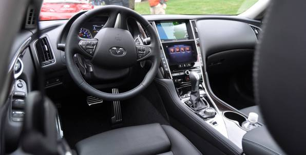 2014 INFINITI Q50S AWD Hybrid -- 1080p HD Road Test Videos & 50 Photos -- AAA+ Refinement and Truly Authentic Steering -- An Excellent BMW 535i Competitor 26