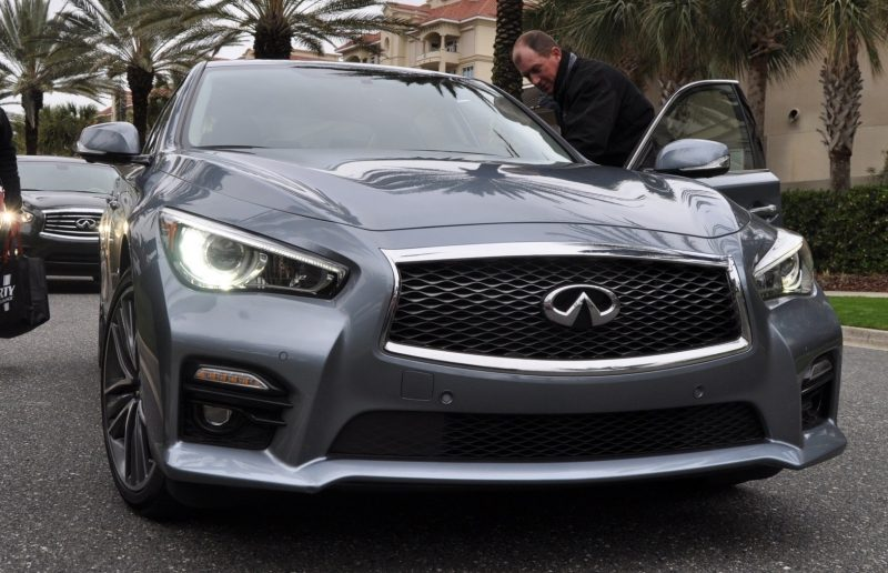 2014 INFINITI Q50S AWD Hybrid -- 1080p HD Road Test Videos & 50 Photos -- AAA+ Refinement and Truly Authentic Steering -- An Excellent BMW 535i Competitor 28